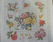 Roses Cross Stitch Picture
