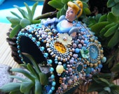 Disney Cinderella embroidered cuff bracelet