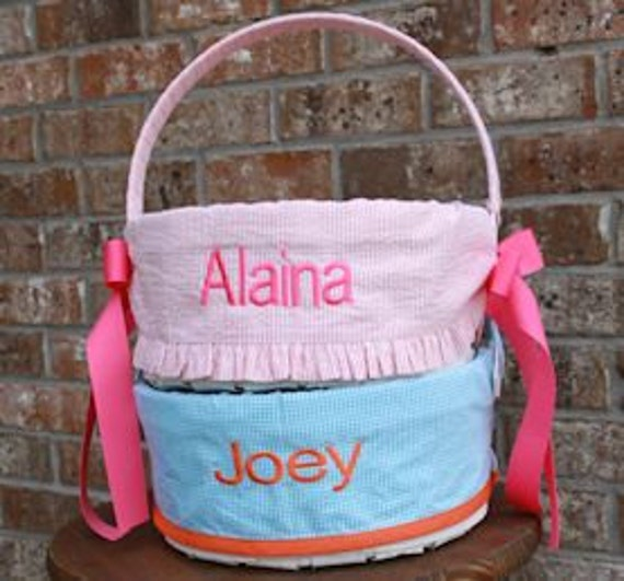 Custom Personalized Easter Basket USA MADE Girls & Boys versions