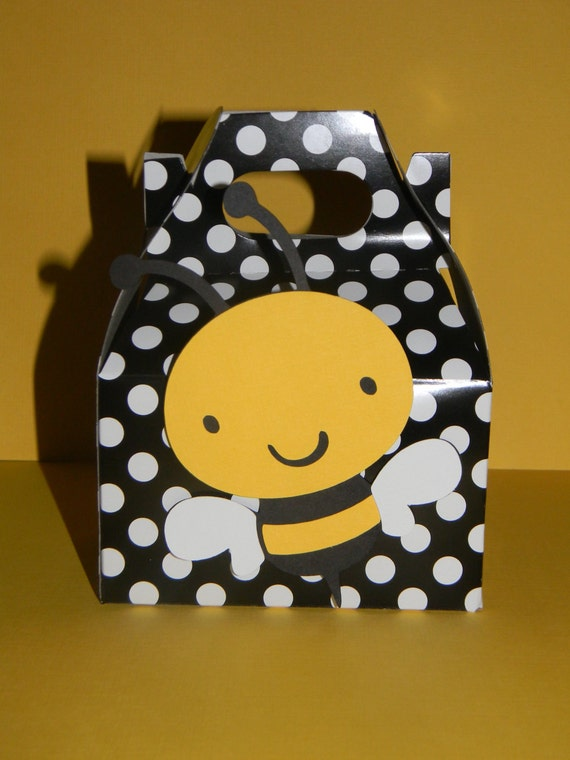 Items Similar To Bumble Bee Favor Boxes