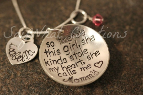 So There's This Girl... Custom Hand Stamped By