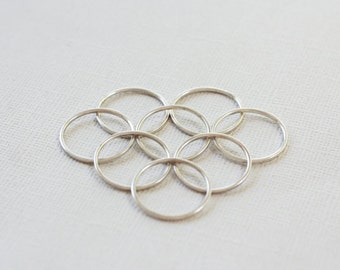 8 STERLING SILVER Rings - Size 7