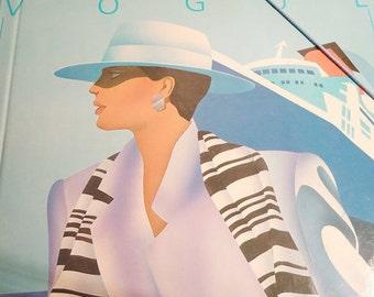 Vogue Lady.Totally 80s Design File Folder.