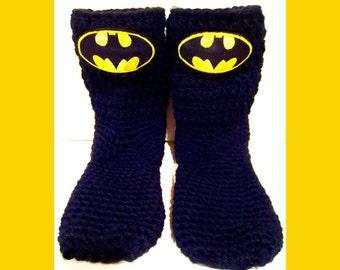 Slipper Socks Kids, Men, Women, Children's Socks, Slipper Socks, House Socks, Handcrafted Socks With Patches, Handmade Socks , Chunky Socks