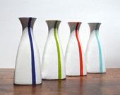 SALE Ceramic Modern Tall Sake Bottle or Vase Home Accessories