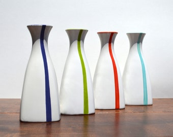 SALE Ceramic Modern Tall Sake Bottle or Vase Home Accessories