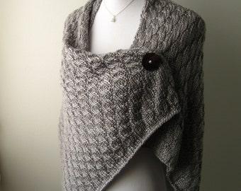 Hand Knit Shawl / Wrap