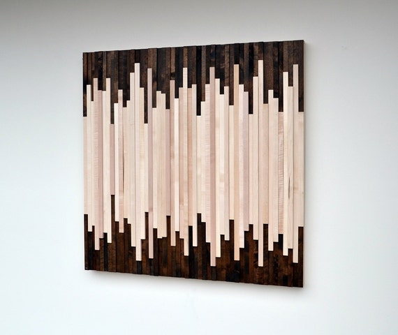 Wood Wall Art Wood Art Sculpture Reclaimed Wood Art Wall
