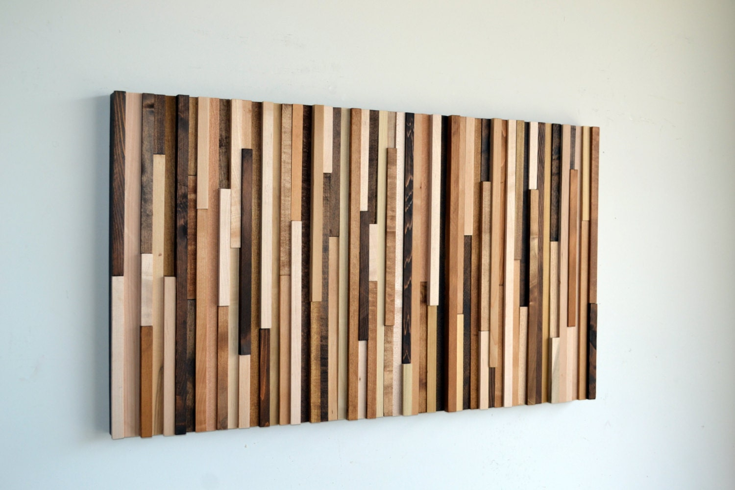 Wood wall art wood art reclaimed wood art wall - Wood panel artwork ...