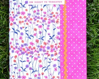 Notebook Flowerfield