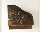 Metal Piano Jewelry Box