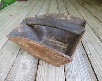 Vintage Wooden Carrier.
