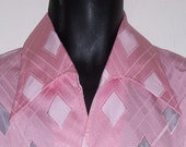"1970's DEADSTOCK XL ""Bia"" Glam Shirt from the Phillipines in Pink"
