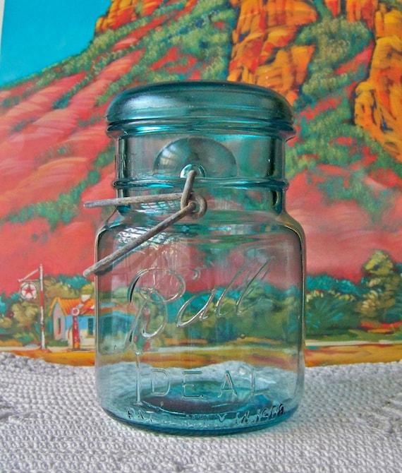 Vintage ball ideal mason jar by cynthiasattic on etsy