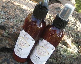 Lotion All Natural Body Cream  Sweet Pea Lotion  Paraben Free Aromatherapy 8 OZ