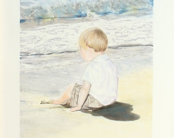 Custom Portrait from Photo - Watercolor, Pastel, Inks - Child, Adult, Family, Wedding, Birthday, Anniversary, Mother's Father's