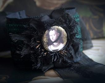 Renaissance Lady Madrigal Fabric Cuff