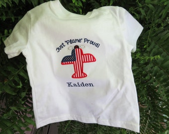 Fourth of July Appliqued Shirt