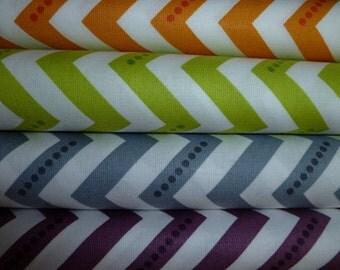 Half Yard Bundle -  Simply Color Chevron by V & Co. for Moda