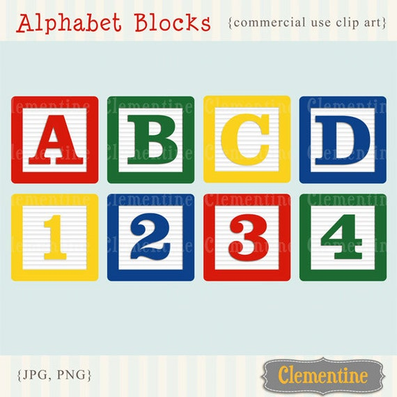 free block letters drawings
