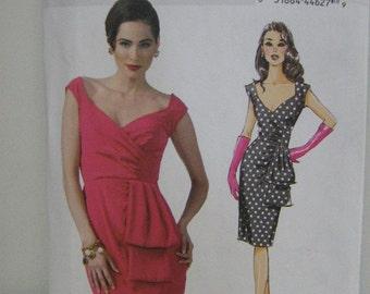 Party Summer Bridesmaid Dress, Uncut, Butterick 5814, Patterns by Gertie, Women's SZ 6 through 14