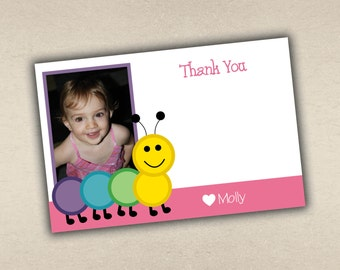 Cute as a Bug Thank You Card with Photo
