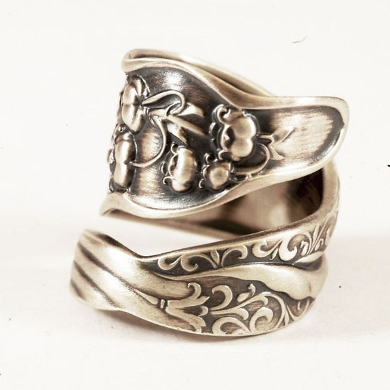 spoon ring unique of the valley nouveau by spoonier