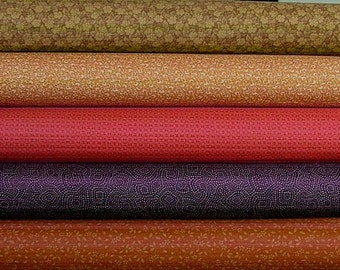 Fat Quarter Bundle of Shades Apart by Thimbleberries for RJR Fabrics