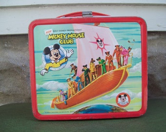 The New Mickey Mouse Club Metal Lunchbox