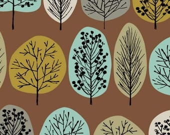 Lollipop Trees Olive, limited edition giclee print