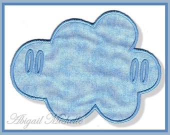 Cloud Banner Add Ons, 2 Designs - 3 Sizes, Machine Embroidery