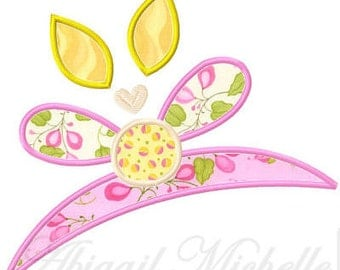 Fairy Tiara Applique, 3 Sizes - Machine Embroidery