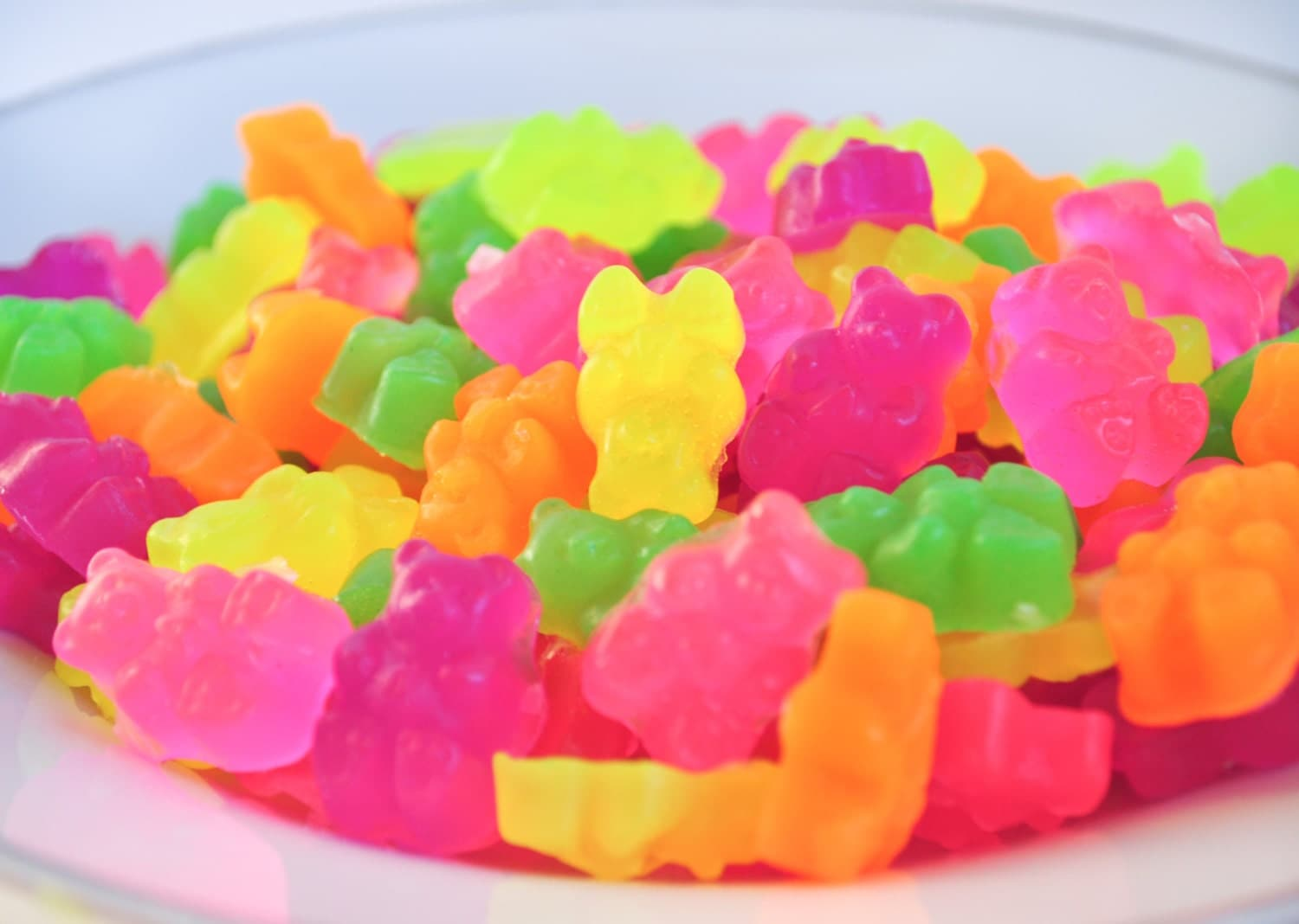 neon gummi bear soaps 3 oz rainbow colors green apple. Black Bedroom Furniture Sets. Home Design Ideas