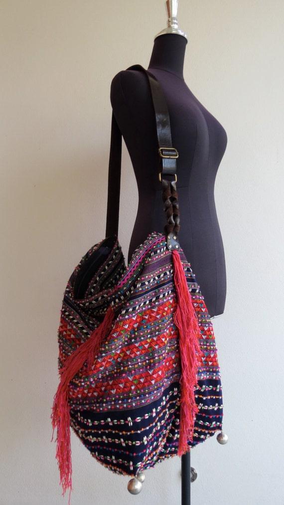 Ethnic Handmade Handbags Vintage Fabric Tote Bohemian Bags