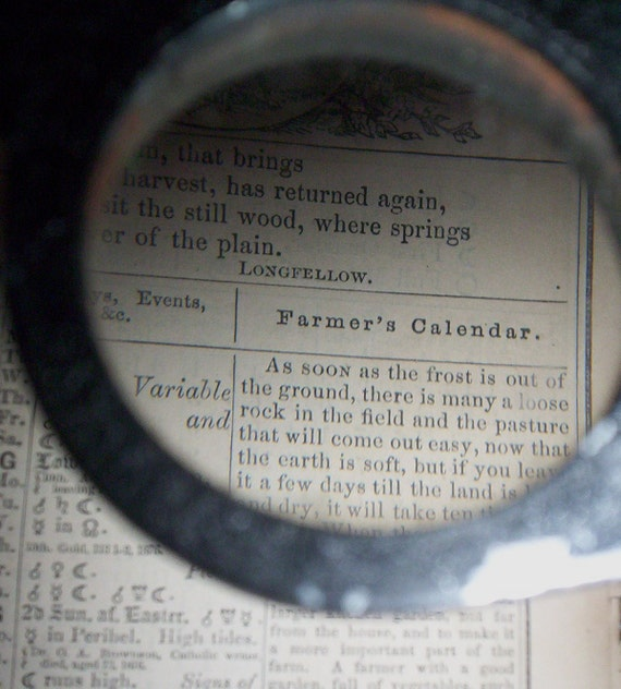 Vintage Magnifying Glass/Stereoscope.  Abrams Instrument Corp. Map Reader Stereoscope. G-090
