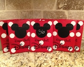 Disney Countdown One Mickey Disney World Vacation Chalkboard Countdown Calendar (Made to Order)