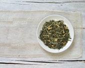 Linda's Lemon Ginger Green Tea • 3.5 oz. Tin • Organic Lemongrass, Ginger Root & Lemon Myrtle Loose Leaf Blend
