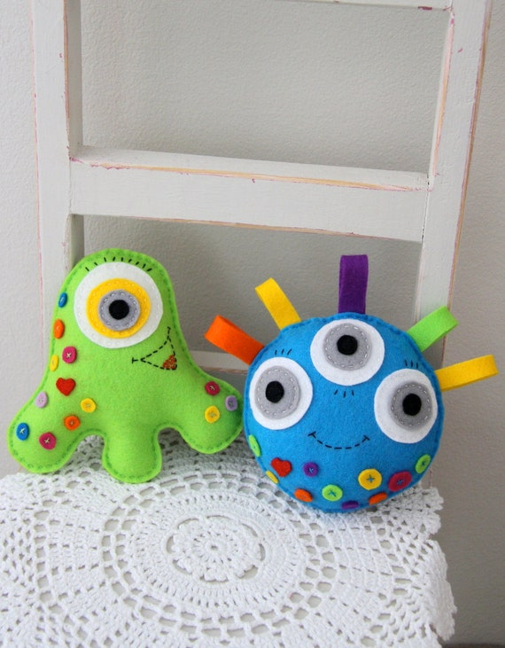 Monster Toys For Boys : Monster toy pdf sewing pattern toys for boys felt from