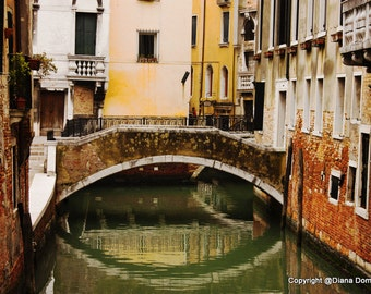 Venice Photography, Venice Wall Art, Venice Prints, Italy Wall Art, Venetian Canal,  Venice Italy, Italian Cityscape, Venice Art