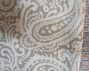 Designer Pillow Cover - 10 x 20, 12 x 16, 12 x 18 - Echo Linen Arta Stone