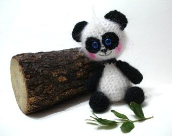 Crochet Bear, Crochet Panda, Amigurumi Crocheted Panda Pattern, Patterns, Tutorial