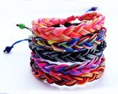 Surf Braided Bracelet - Multi Color Adjustable