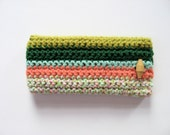 cotton iphone 4 4S case cover cozy pouch