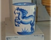 M.A. Hadley - KY. Derby 1992 Cup - Kentucky Derby Collectible Pottery - Horse