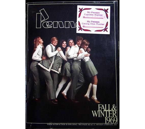 1969 Penneys Catalog - Fall & Winter large catalog