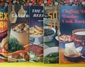 Vintage Sunset Cook Books (On Hold For Marilynne)