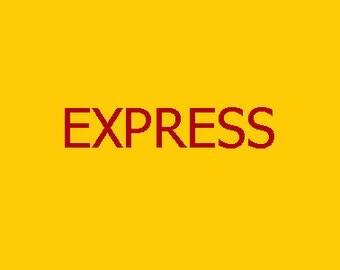 EXPRESS SHIPPING Charge for 2.5 KG Shipping worldwide