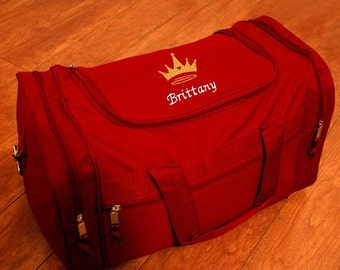 Personalized Duffel Bag - Princess Crown