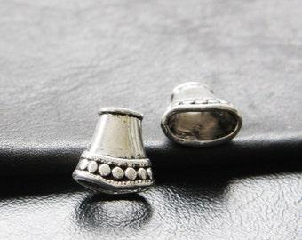 10pcs / Bead Cap / Cone / Oxidized Silver / Base Metal / 14x15mm (YA1282//A267)