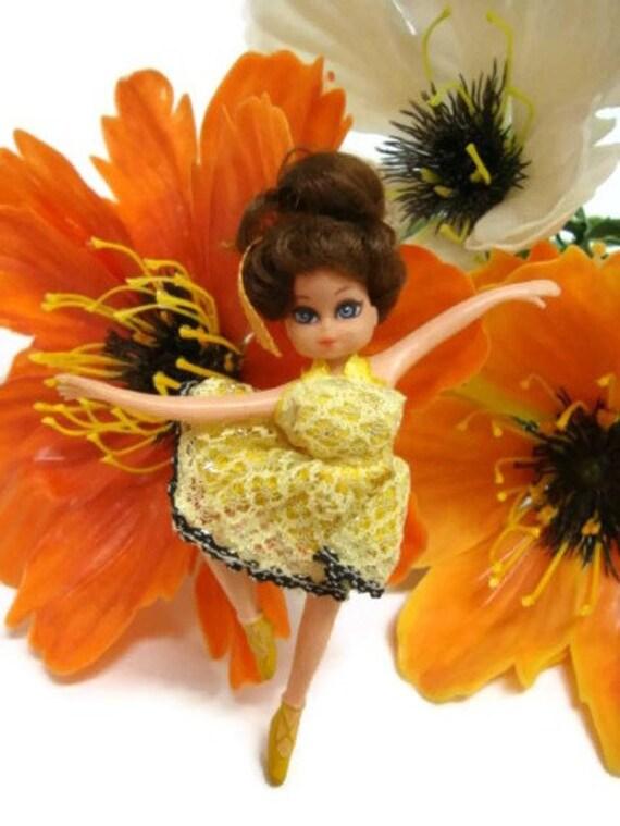 VTG Miniature Ballerina Doll